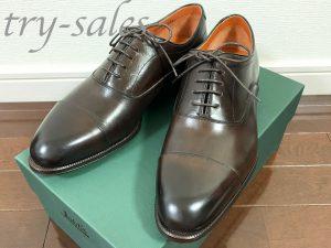 ロブス革靴 ストレートチップ