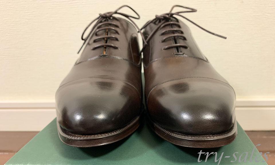 LOBB'S 革靴 ストレートチップ